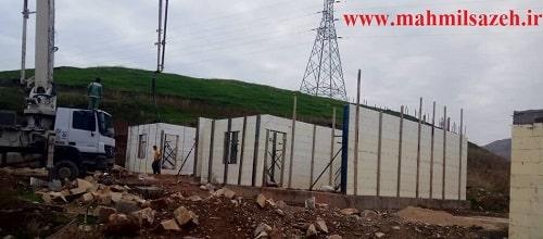 اجرای ساختمان با سیستم ICF بصورت کلید تحویل روستاهای زیلوه، آب باریک و خاتونه مناطق زلزله زده سرپل ذهاب